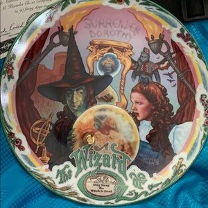 1993 New Wizard of Oz Musical Plate 5 of 5.